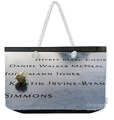 9-11 Remembrance Weekender Tote Bag