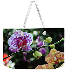 Butterfly Orchid Flowers Weekender Tote Bag