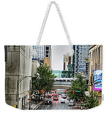 Charlotte North Carolina Views Around  Downtown Weekender Tote Bag