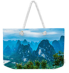 Karst Mountains Landscape Weekender Tote Bag