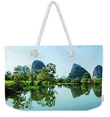 Karst Rural Scenery Weekender Tote Bag