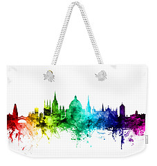 Oxford England Skyline Weekender Tote Bag by Michael Tompsett