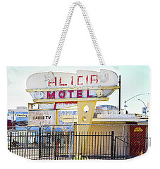 Remnants Of Vintage Vegas Weekender Tote Bag