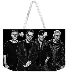 U2 Collection Weekender Tote Bag by Marvin Blaine