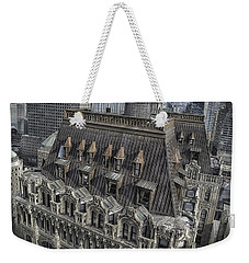 90 West - West Street Building Weekender Tote Bag
