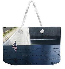 911 Memorial Pool-6 Weekender Tote Bag