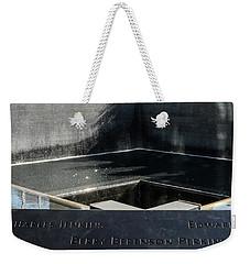 911 Memorial Pool-8 Weekender Tote Bag