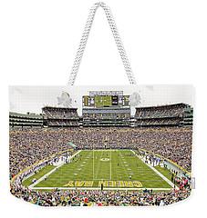 9993 Lambeau Field Weekender Tote Bag