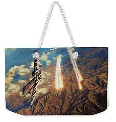 A-10 Thunderbolt Weekender Tote Bag by Dave Luebbert