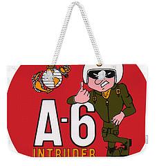 A-6 Intruder Weekender Tote Bag