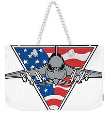 A-6f Intruder Weekender Tote Bag