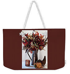 A Autumn Day Weekender Tote Bag