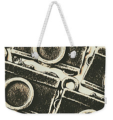A Background In Photography Weekender Tote Bag