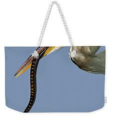 A Bad Snake Day Weekender Tote Bag