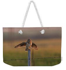 A Balancing Act Weekender Tote Bag