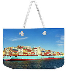 A Barge Can Be Beautiful Weekender Tote Bag