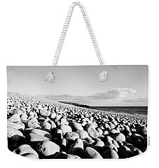 A Beach Of Stones Weekender Tote Bag
