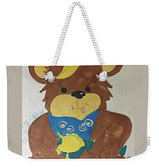 A Bear Loves Honey Weekender Tote Bag