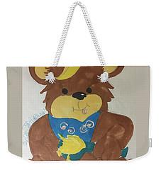 A Bear Loves Honey Weekender Tote Bag