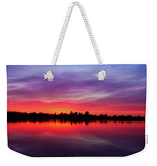 Sunrise At Sloan's Lake Weekender Tote Bag