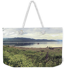 Weekender Tote Bag featuring the photograph A Beautiful Cloudy Day by Victor K