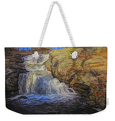 A Beautiful Connecticut Waterfall. Weekender Tote Bag