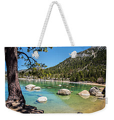 A Beautiful Day Weekender Tote Bag by Nancy Marie Ricketts