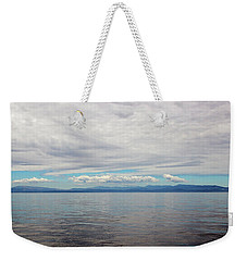 A Beautiful Day On The Monterey Bay Weekender Tote Bag