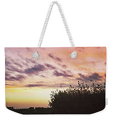 A Beautiful Morning Sky At 06:30 This Weekender Tote Bag