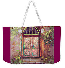 Weekender Tote Bag featuring the digital art A Beautiful Mystery by Lois Bryan