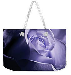 A Beautiful Purple Rose Weekender Tote Bag