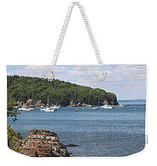 A Beautiful View Of Bar Harbor Weekender Tote Bag