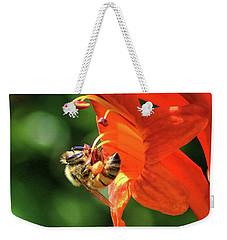 A Bee's Life Weekender Tote Bag by Richard Stephen