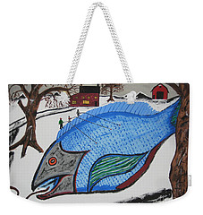A Big Fish Tale Weekender Tote Bag