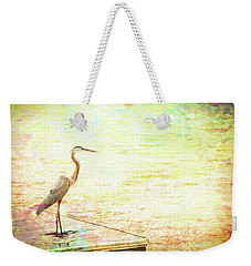 A Bird In The Hand Weekender Tote Bag by Wade Brooks