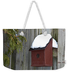 A Birdhouse To Live In Weekender Tote Bag