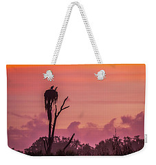 A Birdie Morning Weekender Tote Bag