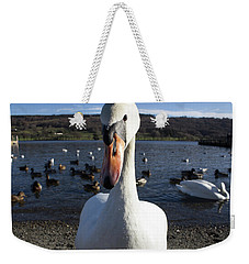 A Bit Close Weekender Tote Bag
