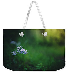 Weekender Tote Bag featuring the photograph A Bit Of Forest Magic by Shane Holsclaw