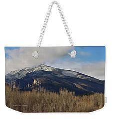 A Bitterroot View Weekender Tote Bag