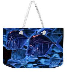 A Blue Swim Weekender Tote Bag
