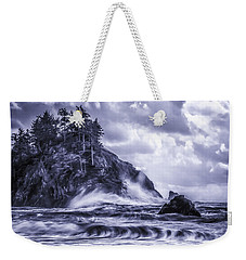 A Blustery Day Weekender Tote Bag