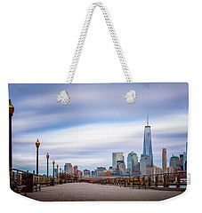 A Boardwalk In The City Weekender Tote Bag by Eduard Moldoveanu