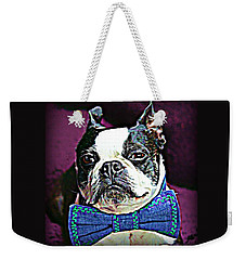 A Boston Named Shorty Weekender Tote Bag