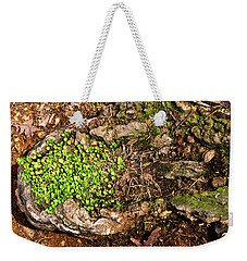 A Bowl Of Greens Weekender Tote Bag