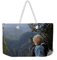 A Boy And His Dog Weekender Tote Bag by Robert Meanor