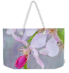 Weekender Tote Bag featuring the photograph A Breath Of Spring by Betty LaRue