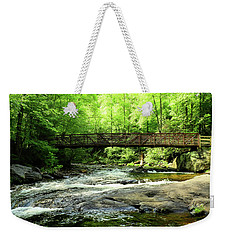 A Bridge Spans Over It Weekender Tote Bag