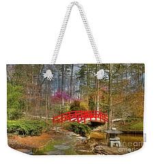 A Bridge To Spring Weekender Tote Bag