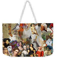 Weekender Tote Bag featuring the digital art A Brief History Of Women And Dreams by Nola Lee Kelsey